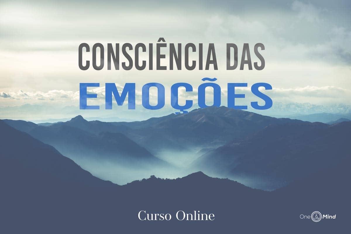 Curso online consciência das emoções
