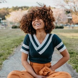 Meditação para diversão feminina
