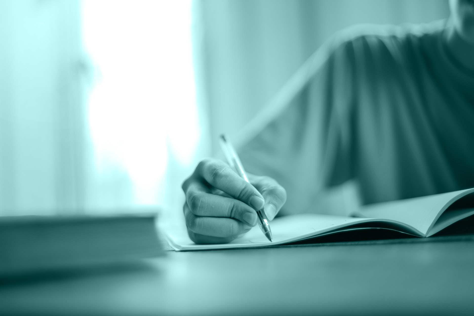 Por que a escrita terapêutica pode curar?